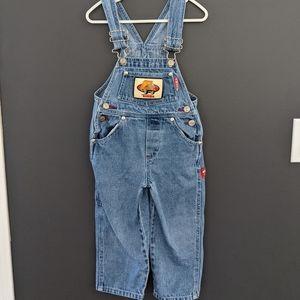 Vintage Hasbro Tonka denim overalls